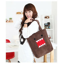 Domo Kun Figure Plush Soft Cartoon Cute shoulder hand BAG handbag