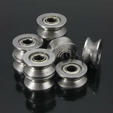 20Pcs High Carbon Steel Sealed Guide Wire Line V Groove Pulley Rail Ball Bearing