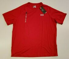 Under Armour Men's Red T-Shirt Size Xl X-Large Short Sleeve Round Neck Nwt