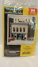 DPM Structure - Char's Soda Shoppe #50400 N Scale Building Kit Model Trains -New