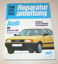 Reparaturanleitung Audi 80 B3 - Benziner - ab 1988!