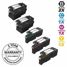 5pk Comp Toner Cartridge Set for Xerox Phaser 6000 6010 WorkCentre 6015 Black