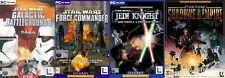 star wars galactic battlegrounds saga&force commander&dark forces&shadows empire