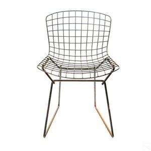 Bertoia Chairs 2 Sets Of 2 Pairs - Mid Century Modern Side Chairs Harry Bertoia