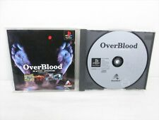 OVER BLOOD 3D Active Adventure Item Ref/bbc PS1Playstation PS JAPAN Game p1