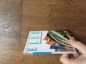POCHE 8056 LES FICHES CUISINES DE ELLE poissons et crustaces photos 1994