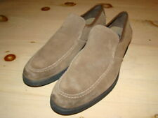 Hush Puppies Leather Reminisce Taupe Loafer Slip On Shoes - Men's sz 11 M - EUC