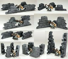 FROSTGRAVE (suited) - 'RUINED WALLS PACK' - PRE- PAINTED - FANTASY TERRAIN