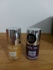 Nails Inc.Special Effects Bloomsbury Square & Donmar 3D Glitter Nail New 🌟