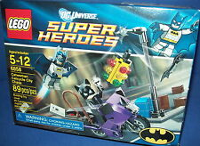 LEGO 6858 SUPER HEROES DC Universe CATWOMAN CATCYCLE CITY CHASE 89pcs New RETIRE