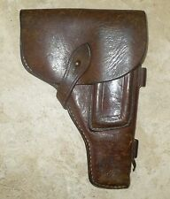 VERY OLD LEATHER GUN HOLSTER