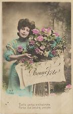 Carte postale fantaisie ancienne  carte bonne  fête   No 5