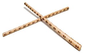 Krakstorm Escrima Sticks (Pair) TigerBurn Design Rattan Eskrima Sticks FMA Arnis