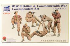 Bronco BNC35140 1:35 WWII British & Commonwealth War Correspondent Set 1/35