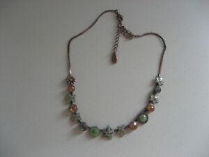 Pilgrim Halskette, emailliert und mit Steinen