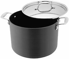 Stellar 6000 Stockpot 24cm 8.0L All Hobs Inc Induction Dishwasher & Oven Safe