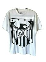 Tapout Mens T Shirt MMA Mixed Martial Arts Fighting Bird Phoenix Cotton Large