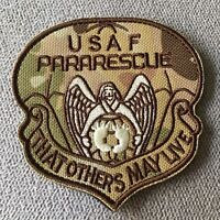 USAF PARARESCUE Embroidered Air Force Military Tactical Morale Hook Patch Badge