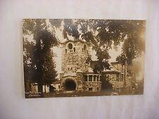 Real Photo Postcard RPPC First Methodist Church Batavia Illinois IL 1912 #2017
