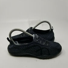 New listing Skechers Black Mesh Lace Up Comfort Slip On Low Walking Shoes Women Size 7
