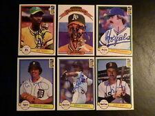 Mike Norris 1982 Donruss #197 AUTOGRAPH Oakland A's Signed Baseball Card Auto