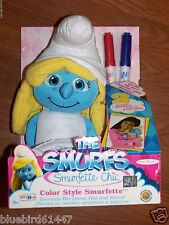 Smurfs Smurfette Color Style Plush Doll New