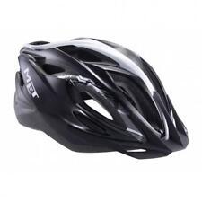 MET Xilo road bike and Mountain trail cycle helmet - Black White
