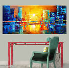 NEW Modern Abstract Huge Wall Decor Oil Painting On Art Canvas SUN (No Frame)