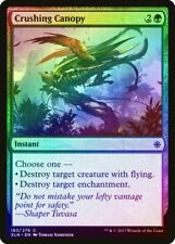 Crushing Canopy FOIL Ixalan NM Green Common MAGIC THE GATHERING CARD ABUGames