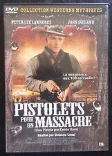 DVD  WESTERN PISTOLETS POUR UN MASSACRE
