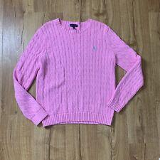 ralph lauren cable knit sweater xl