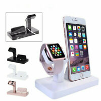 Charging Dock Stand Station Charger Holder For iWatch And iPhone