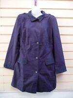 Sheego @ Kaleidoscope Navy Blue Coat Jacket Casual size 16 Lace Trim  BNWT G022