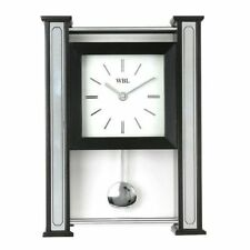 Hometime Chrome Living Room Wall Clocks