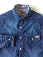 Tokyo Laundry Camicia A Maniche Lunghe Bottoni A Scatto Perle Taglia S in buonissima condizione vedere le misurazioni