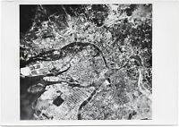 Luftbild von Leningrad. Orig-Pressephoto, von 1941