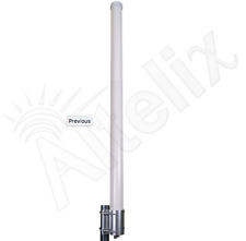 Altelix 2.4 GHz 15 dBi Dual Polarity WiFi 2x2 MIMO Omni Base Antenna 2x N Female