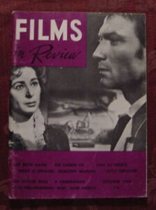RARE Films In Review Magazine October 1964 Dorothy Mcguire Rudolph Mate