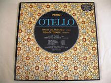 VERDI  Otello Del Monaco Tebaldi 3 LP BOX