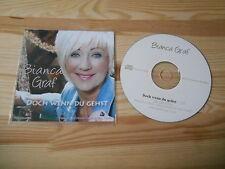CD Schlager Bianca Graf - Doch wenn du gehst (1 Song) COCCO MUSIC
