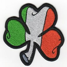 IRISH CLOVER FLAG PATCH