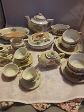 Mixed Lot of Porcelain China Doll/child Dishes