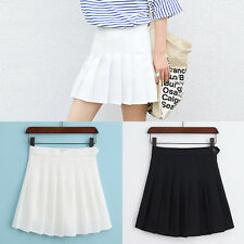 High Waist Comfortable Women Slim Thin Pleated Tennis Short Skirts Dress Playful