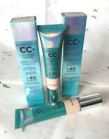 IT Cosmetics Your Skin But Better CC+Cream Oil-Free Matte SPF 40 32ml NIB~MEDIUM