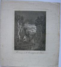 Einsiedelei Wallfahrt St. Verena bei Solothurn Schweiz Orig Aquatinta 1830