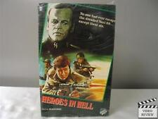 Heroes In Hell VHS NEW (Large case) Klaus Kinski, Ettore Manni