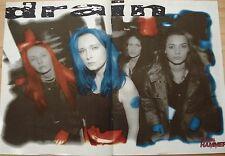 DRAIN STH  __   1 Poster / Plakat   __   28,5 cm x 41 cm