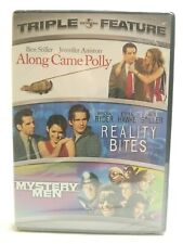 Along Came Polly Reality Bites Mystery Men Triple Feature Dvd Stiller Ryder New