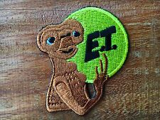 Alien extraterrestrial ET ufo flying saucer applique iron-on patch