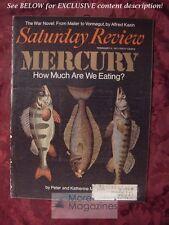Saturday Review February 6 1971 MERCURY PETER KATHERINE MONTAGUE ALFRED KAZIN